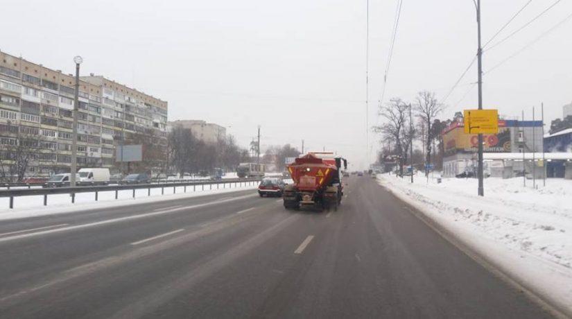обработка дорог, уборка снега