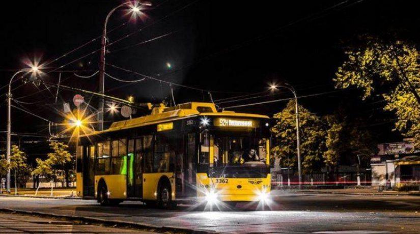 Троллейбус № 92н изменит маршрут
