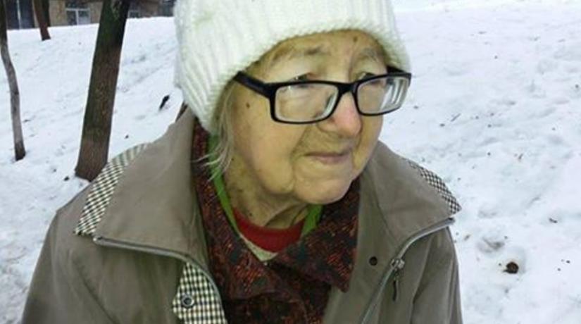 Киевлян просят помочь найти родственников пожилой женщины, потерявшей память