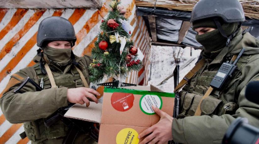 Военные Новый год