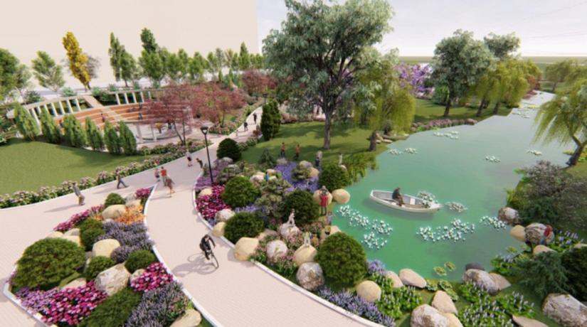 Представлен проект второй очереди реконструкции нового парка на Троещине