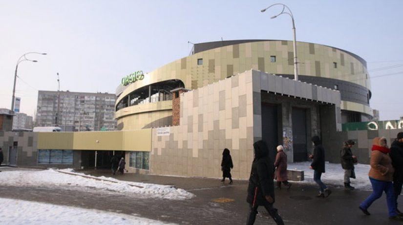 Завершается строительство ТРЦ над станцией метро «Героев Днепра»