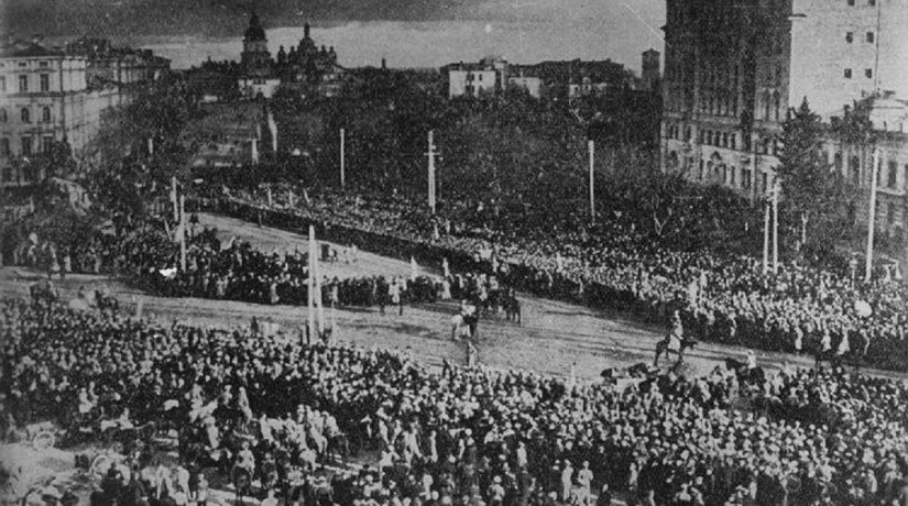 На Софийской площади