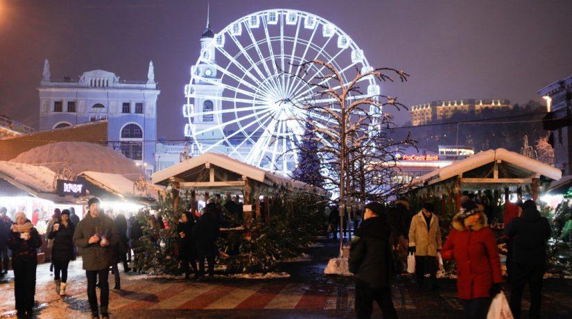 Успеть все: топ-5 зимних праздничных локаций в Киеве