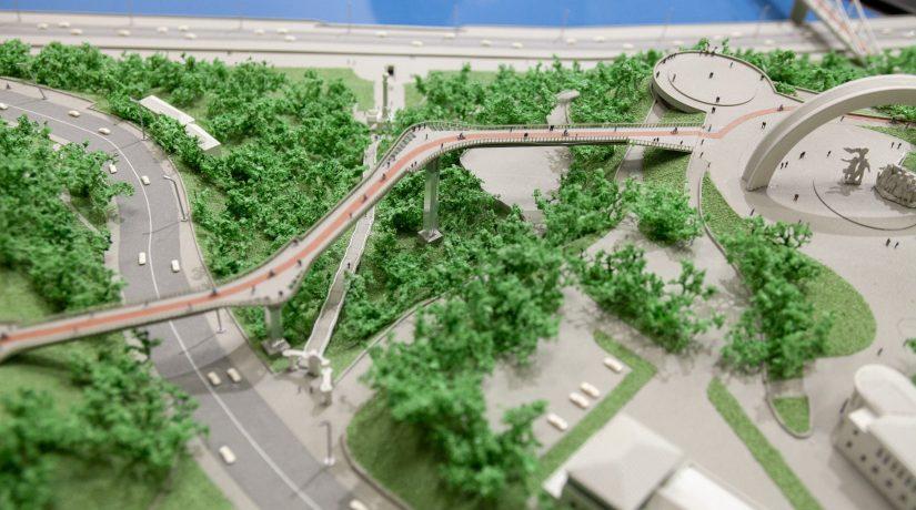 пешеходно-велосипедный мост