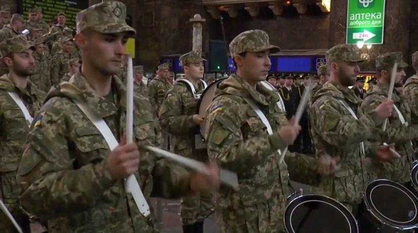 На Центральном вокзале в столице будет играть военный оркестр