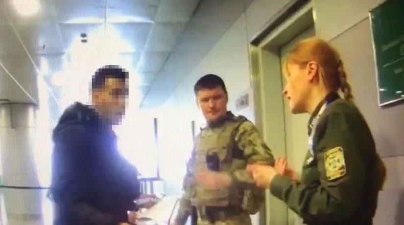 В аэропорту «Борисполь» гражданин Марокко напал на пограничника