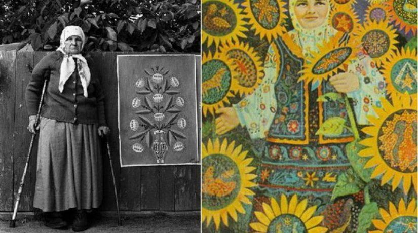 На станции метро «Золотые ворота» открылась выставка «Женское измерение: Мария Примаченко»