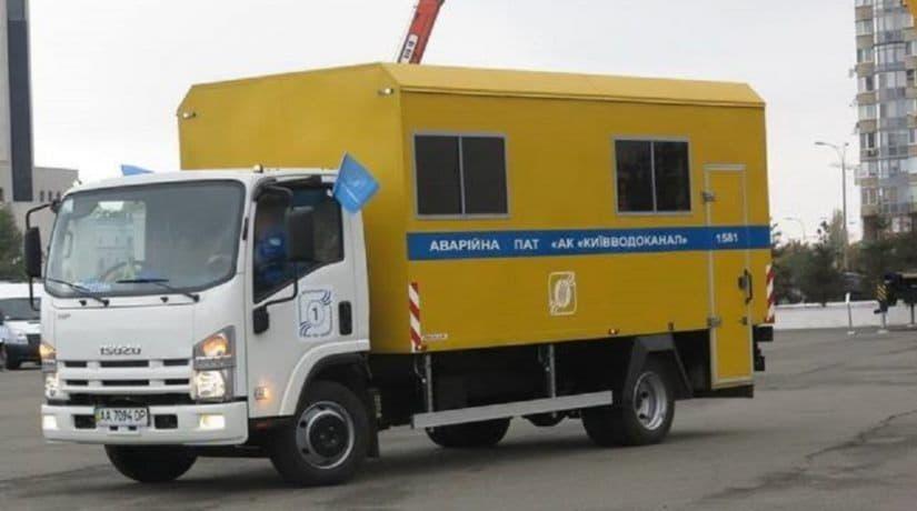 Киевводоканал. аварийка