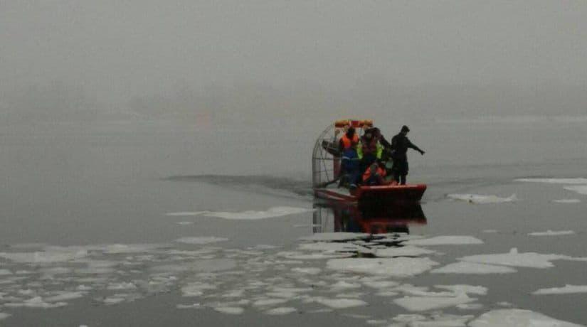 В акватории Днепра утонул рыбак