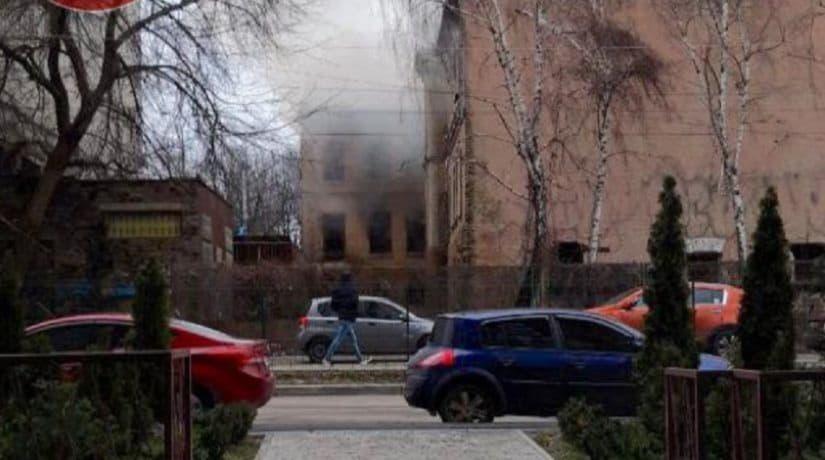 пожар, Сечевых Стрельцов, 91