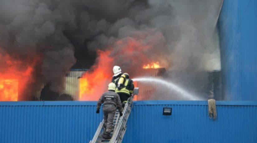 Пожар Лесная