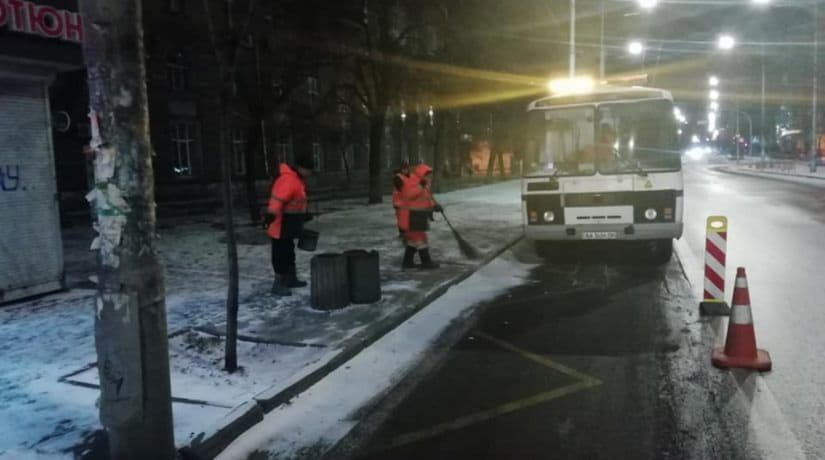 снег, дороги, расчистка