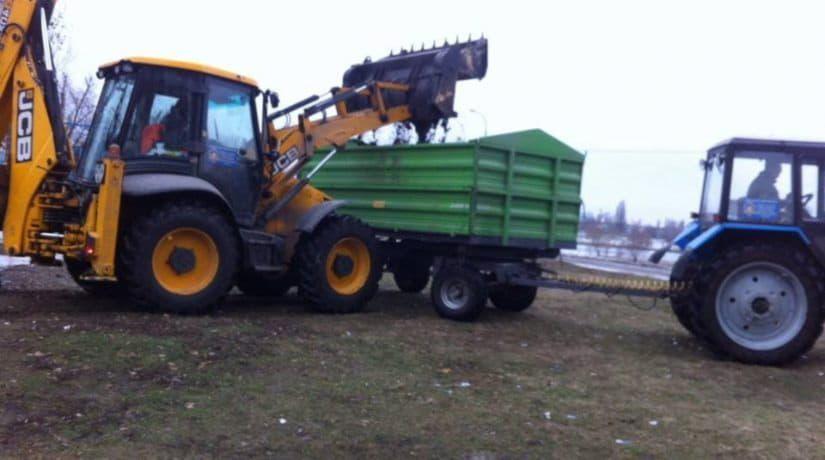 В Днепровском районе ликвидировали стихийные свалки