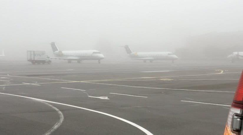 Туман аэропорт Киев