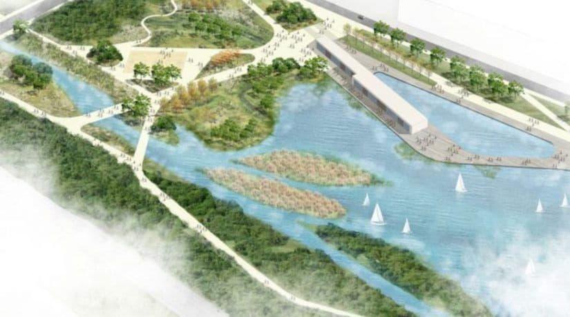 Проект парк Почайна