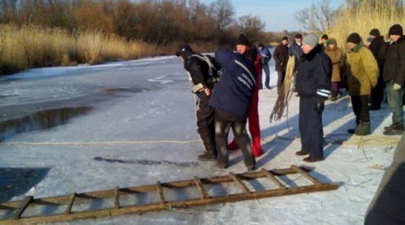 Тело на реке Лыбедь