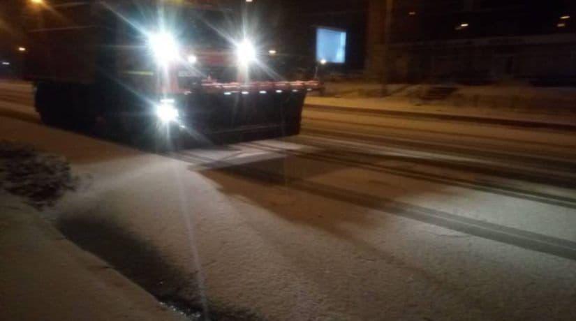 киевавтодор, снег
