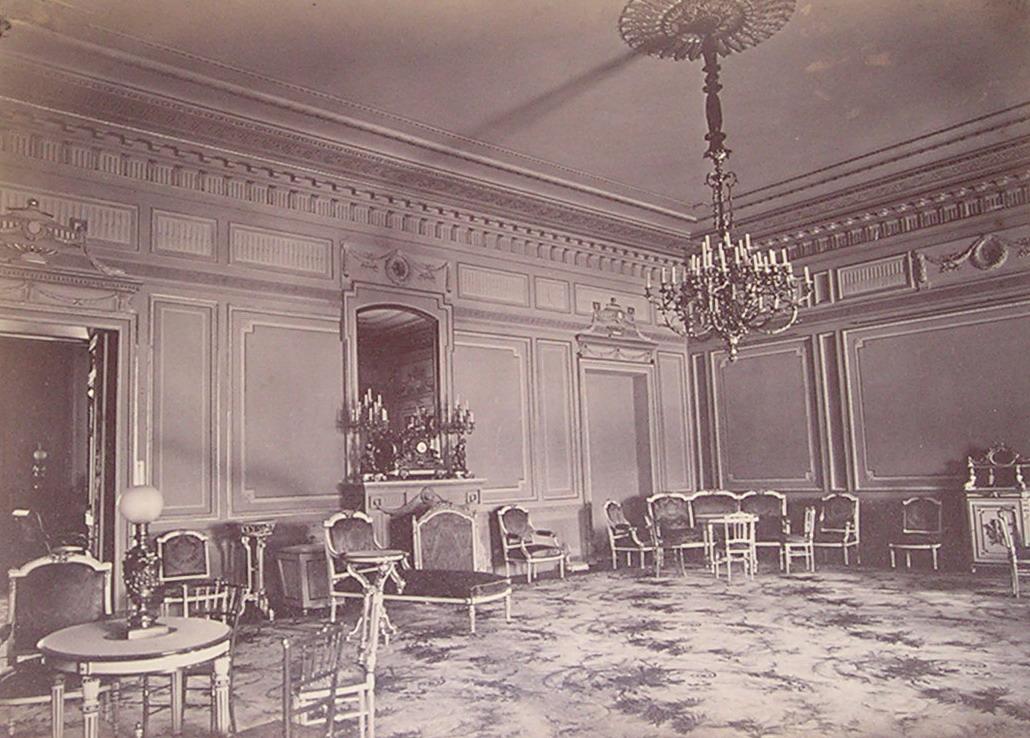 Гостиная Царского дворца 1871 г.