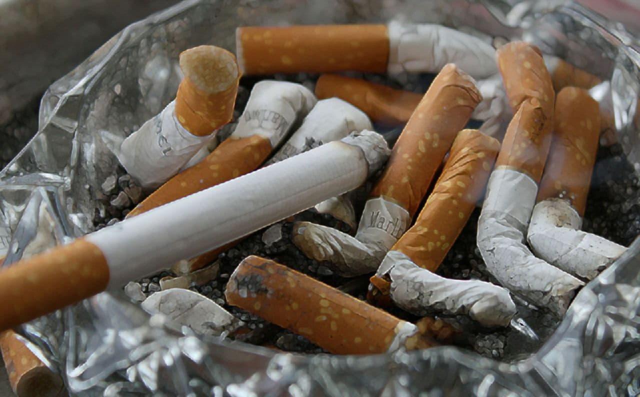 выкуренные сигареты