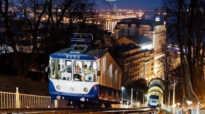 Картой Kyiv Smart Card можно оплатить проезд на фуникулере
