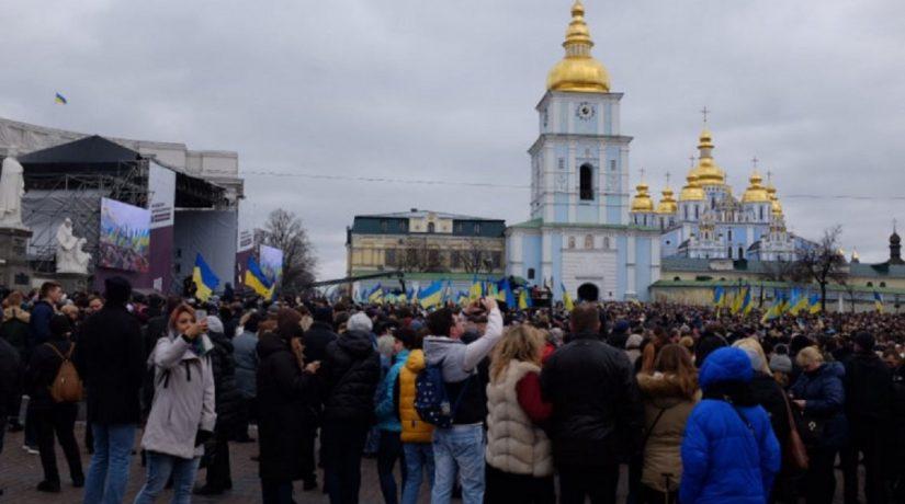 Михайловская площадь, акция