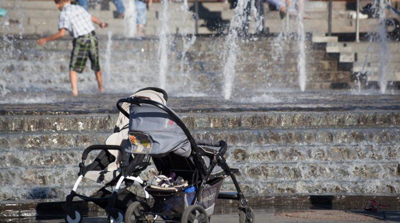 дети, коляска