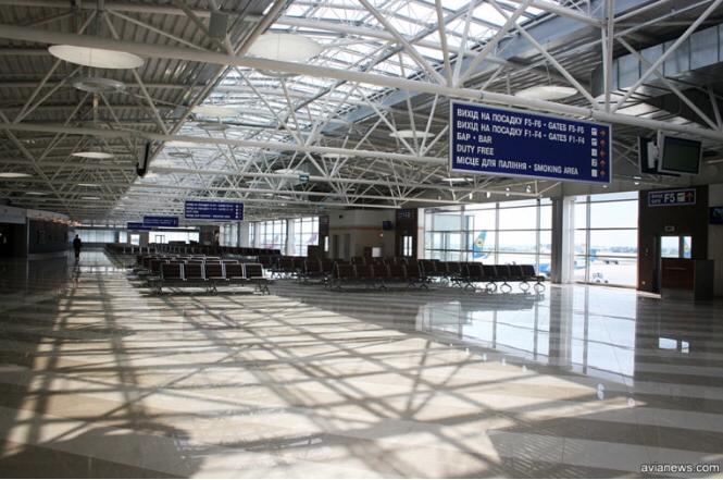 аэропорт, Борисполь, терминал F
