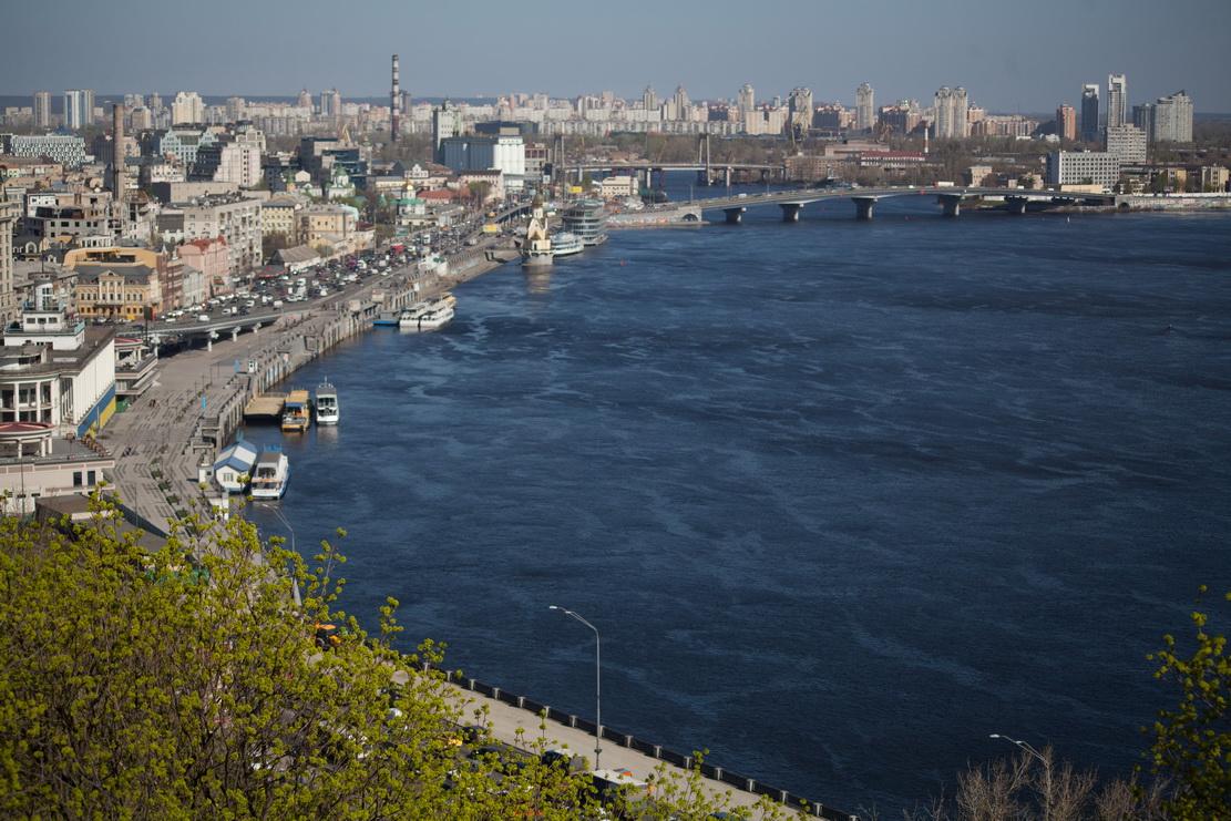 Вид на Днепр, Киев
