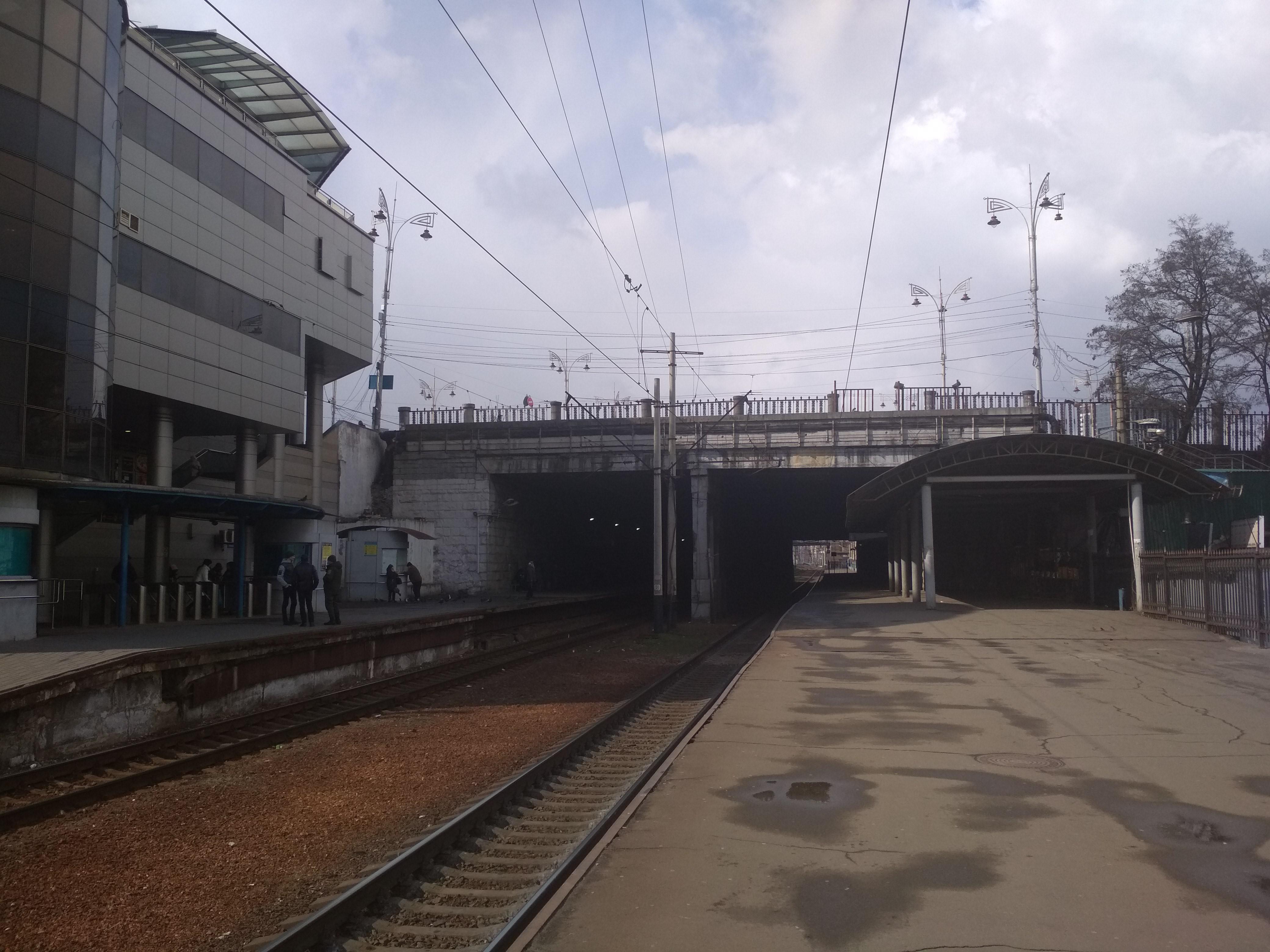 Тоннель Северных платформ