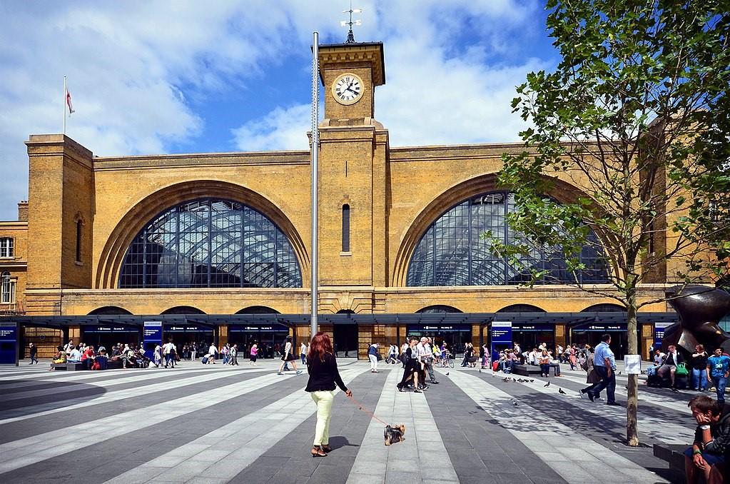 Вокзал «Кинг Кросс» в Лондоне
