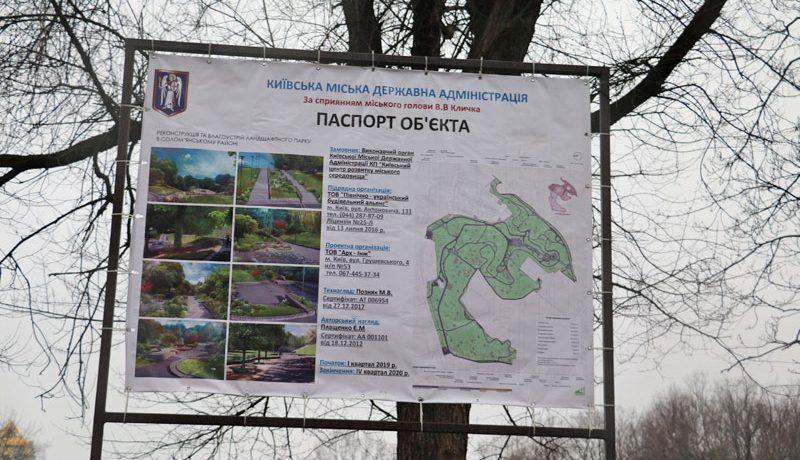 Соломенка, ландшафтный парк, реконструкци