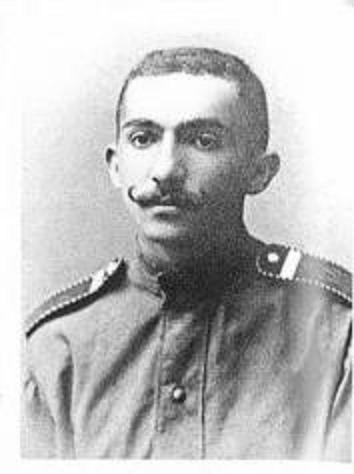 Ю. К. Рапопорт, фото времен Великой войны
