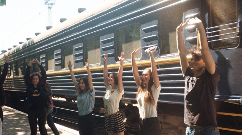 По маршруту Киев – Мариуполь отправится первый в Европе арт-поезд