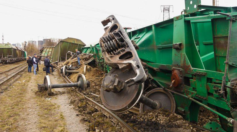 авария поезд