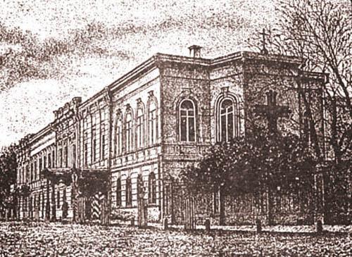 Бывшая резиденция гетмана П. Соропадского, здание не сохранилось
