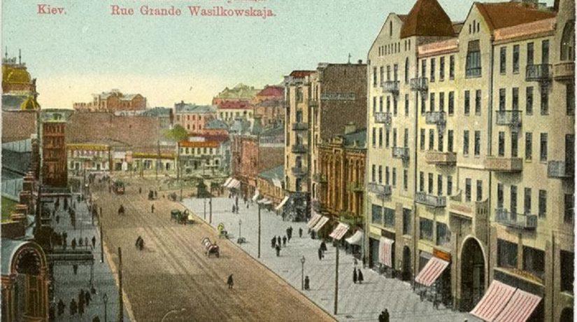 Вид на ул. Б. Васильковскую