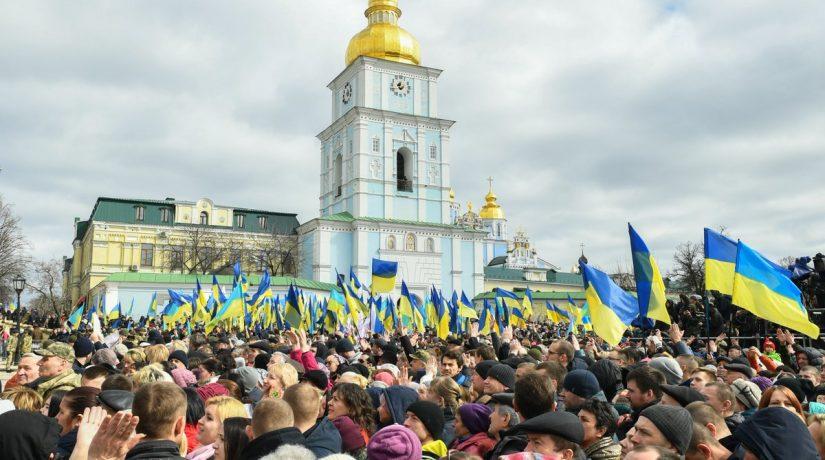 Михайловская площадь, Порошенко