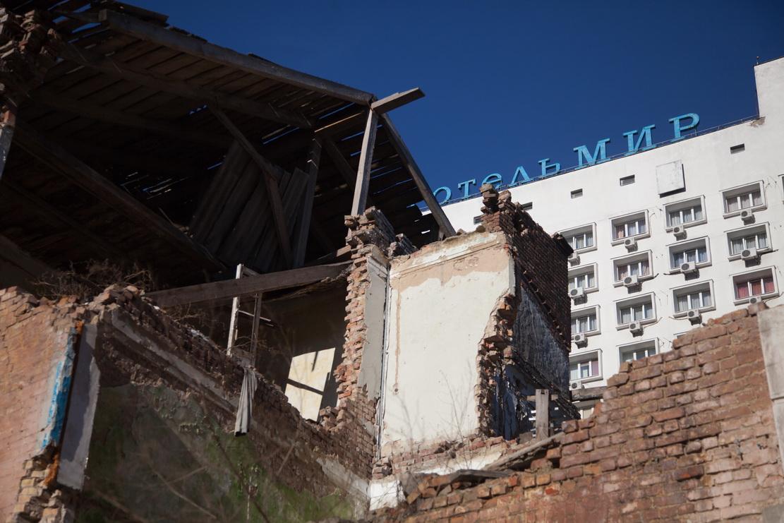 дома, разрушение