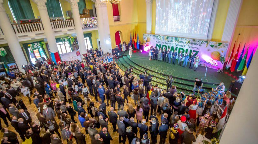 В Колонном зале КГГА посольства восьми стран отпразднуют Nowruz-2019