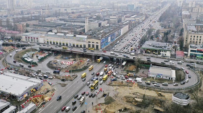 Демонтаж Шулявского моста: в апреле ограничат движение по проспекту Победы