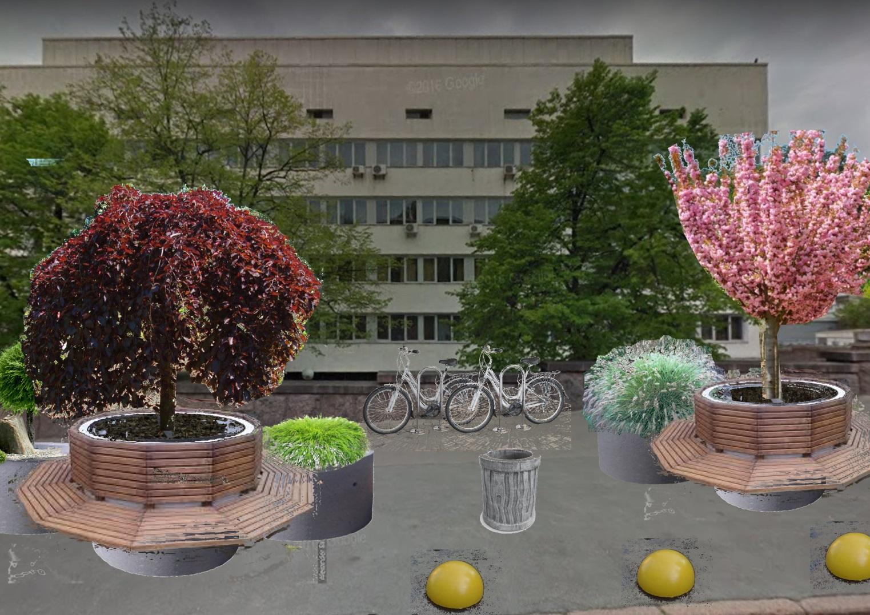 Проект аллеи в честь Марины Поплавской