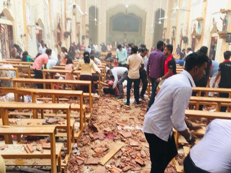Шри-Ланка, теракт