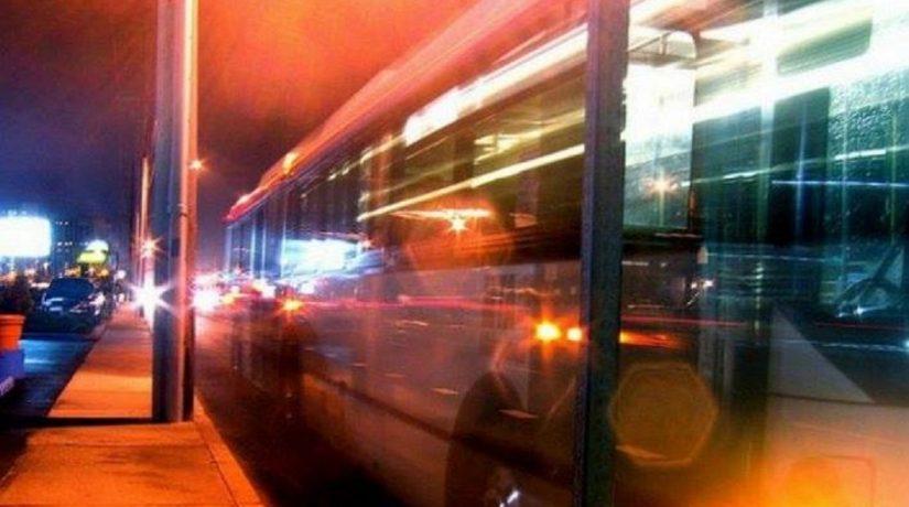ночной троллейбус