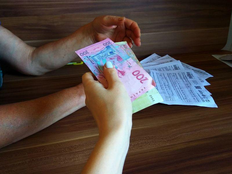 квитанции, ЖКХ, деньги