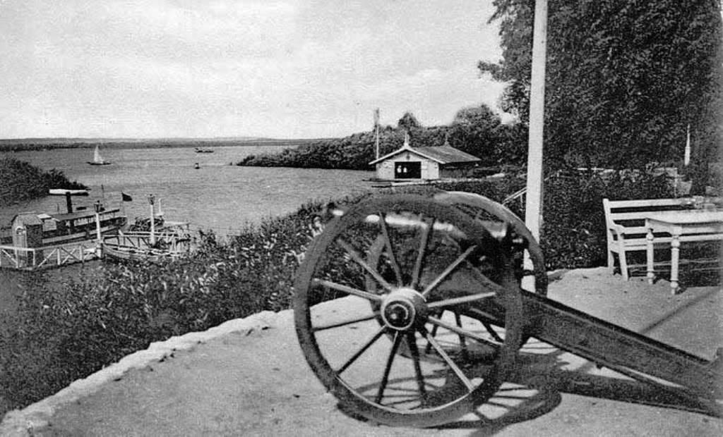 Клубная артиллерия - сигнальная пушка