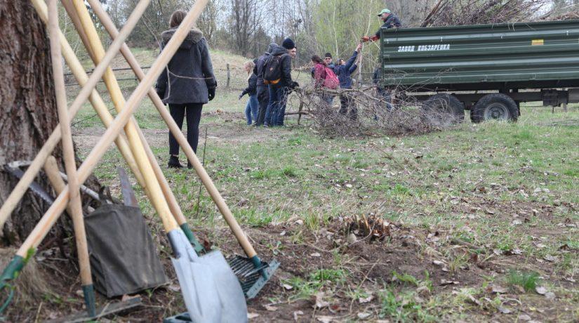 В музее «Пирогово» организовали весеннюю толоку