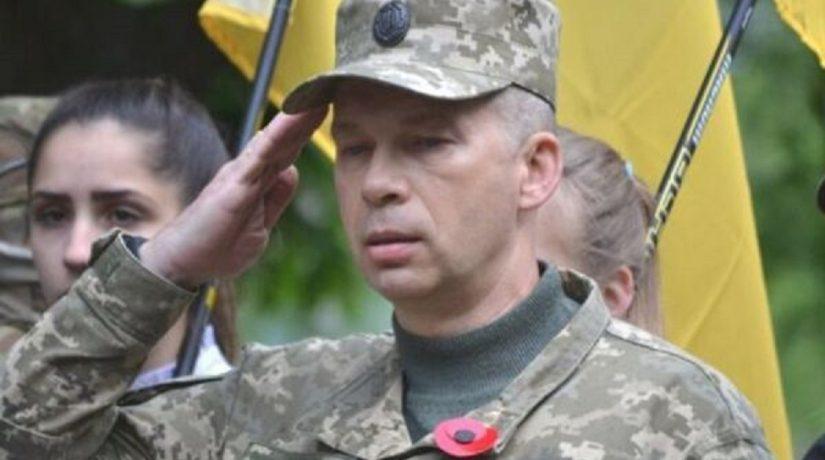 Порошенко сменил главнокомандующего ООС на Донбассе