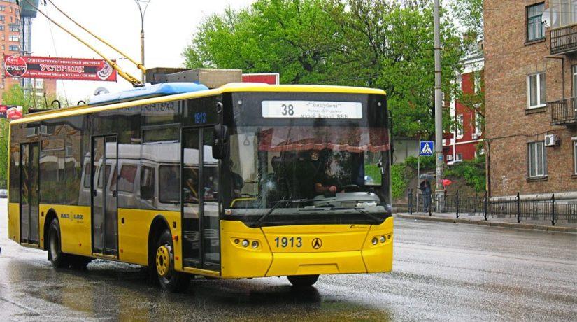 троллейбус 38