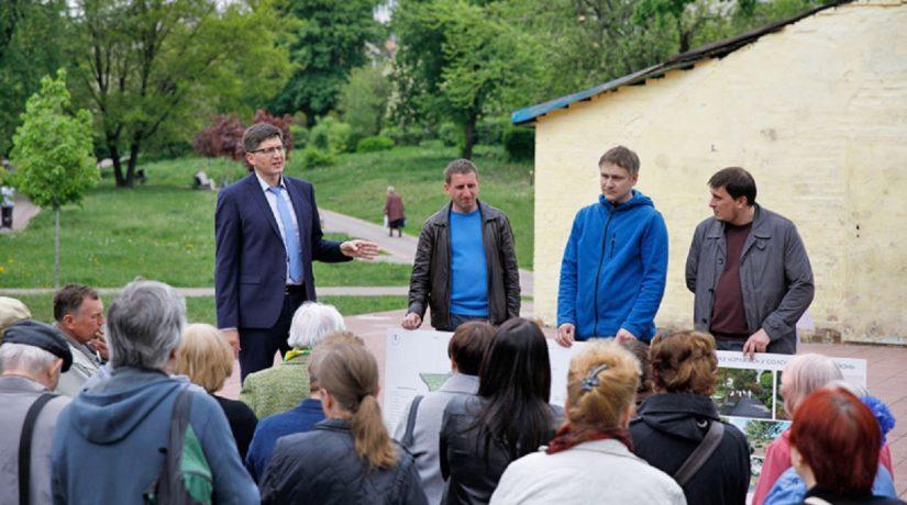 Представлен проект реконструкции парка «Орлятко»